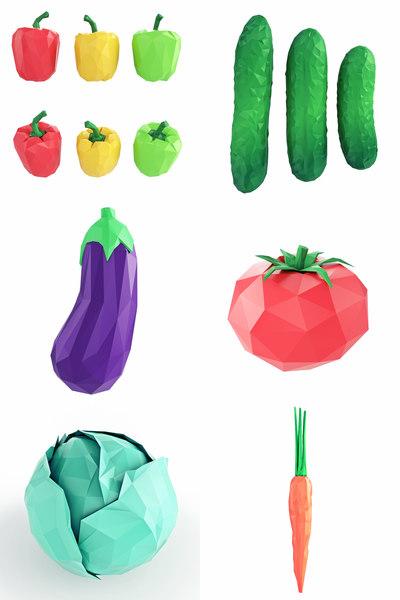 vegetables model