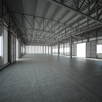 Hall (factory, warehouse)