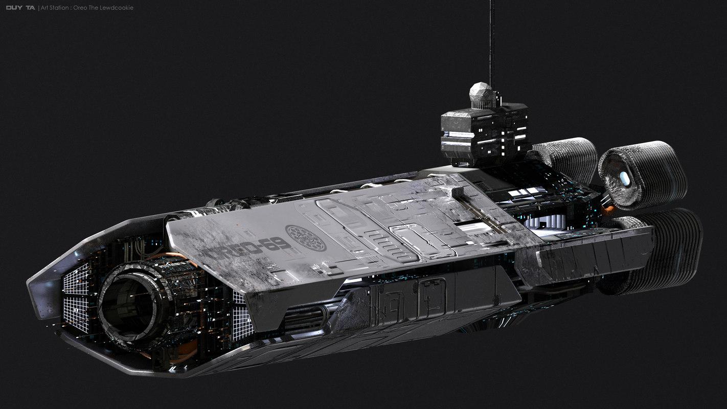 future 3D model