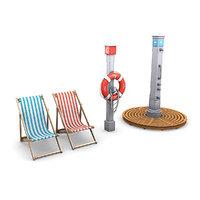 beach elements 3D model
