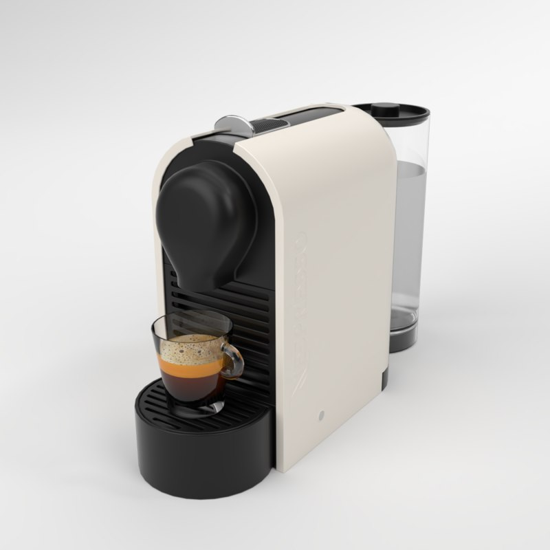 3D interior nespresso u cream