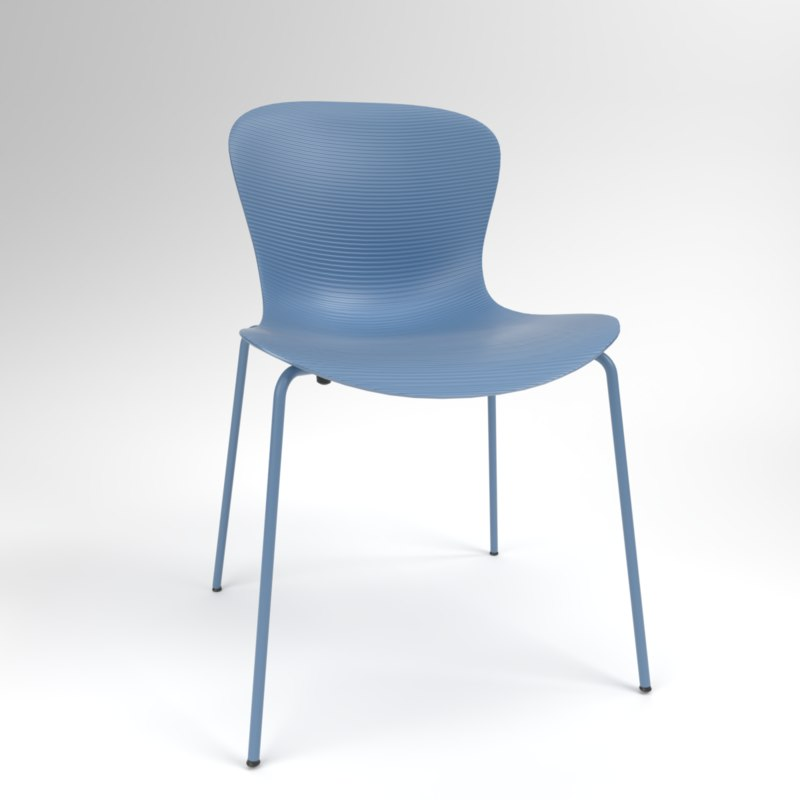 3D interior fritzhansen nap ks50 model