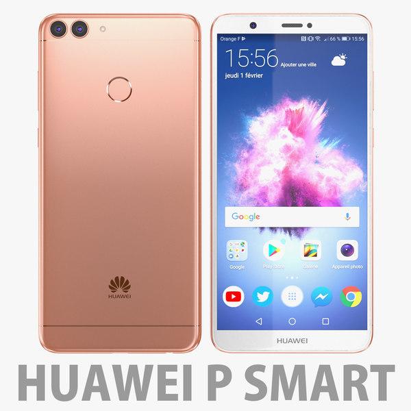 huawei p smart 3D model