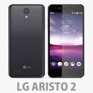 lg g aristo 3D model