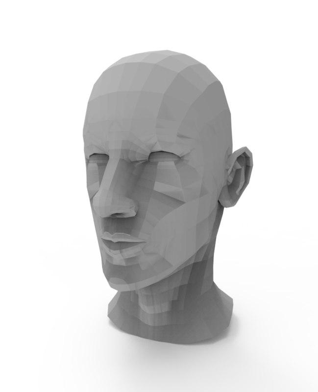 head l ow 3D