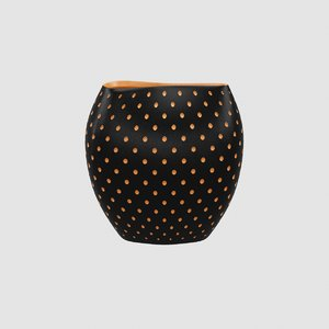 aldo vase schwarz 3D model