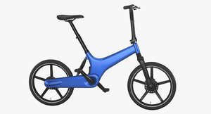 3D electric bike 2 model