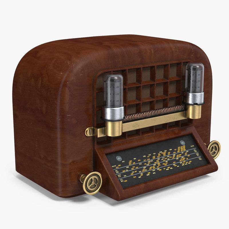 vintage radio model
