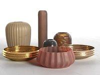 vase set 10 3D model