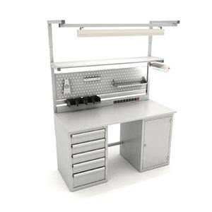 3D workbench workshops model