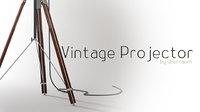 vintage projector 3D model