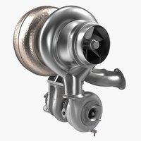 car turbine 3D