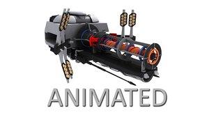 3D fiction energy model