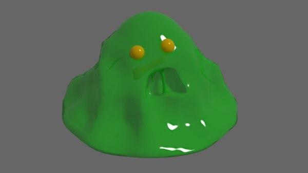 slime 3D model