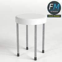 3D stool archviz