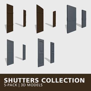 shutters 3D