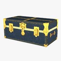 vintage trunk 3D model