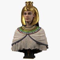 3D egyptian queen model