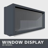 3D window display
