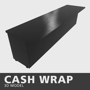 3D model cash wrap