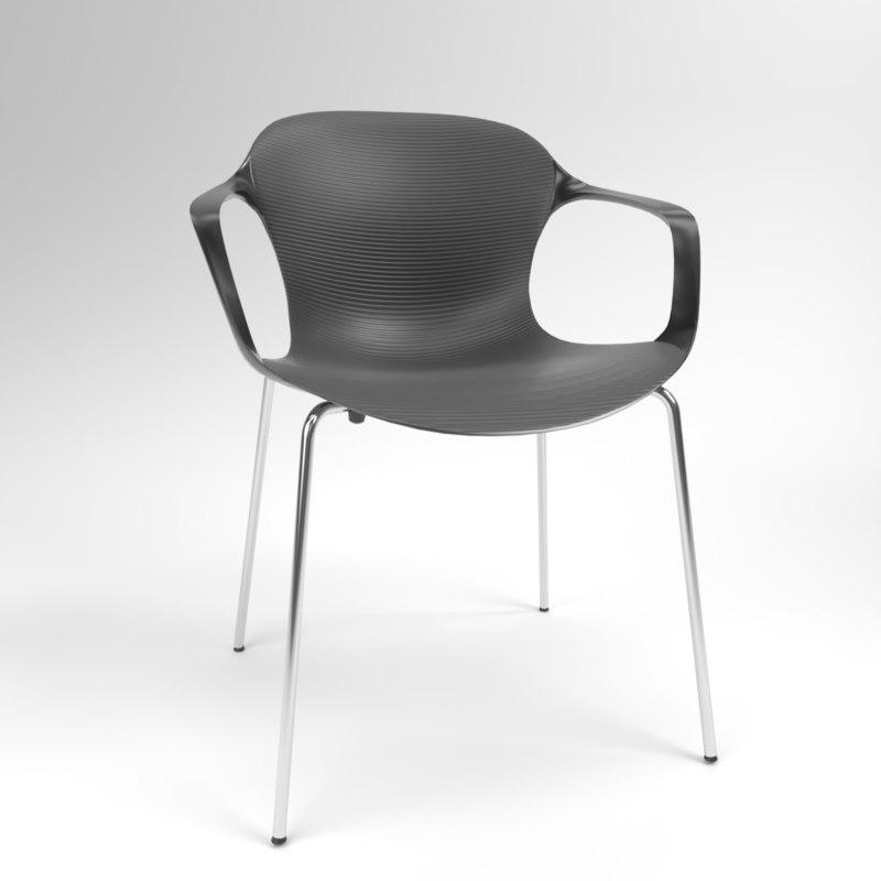 interior fritzhansen nap ks60 3D model