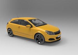 3D car hq model