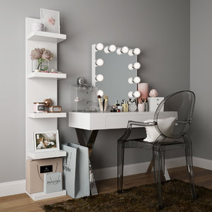3D model dressing table