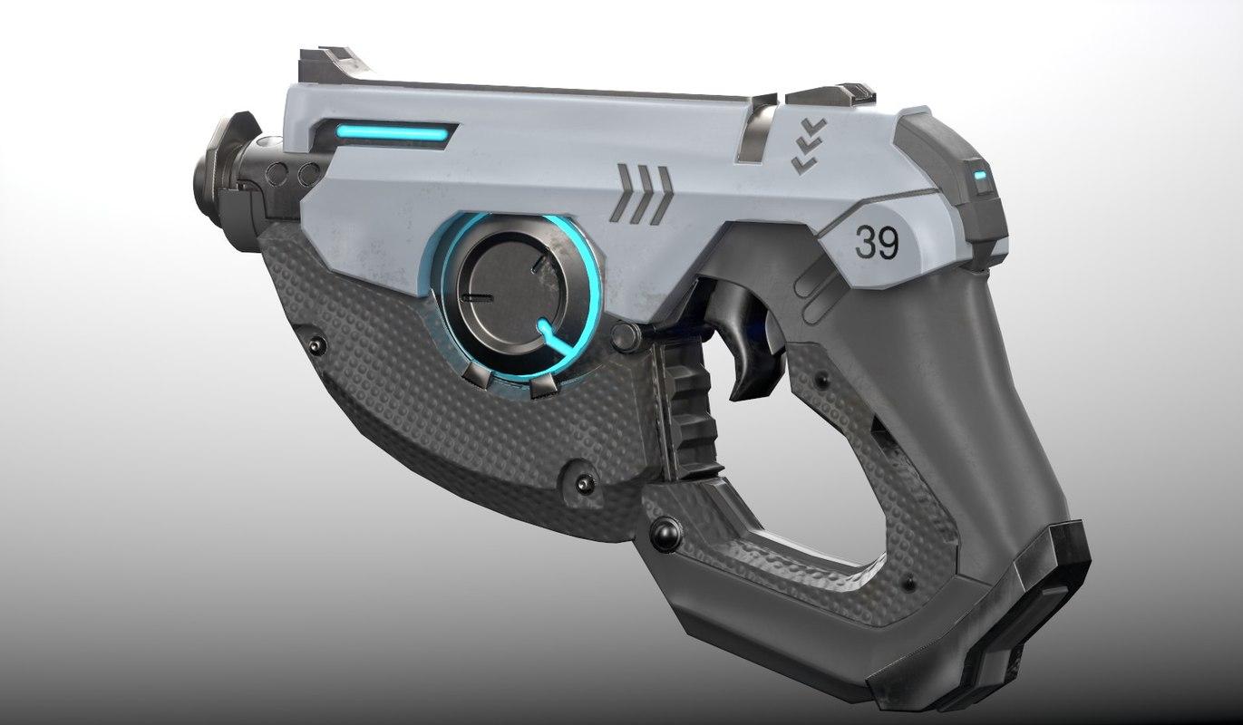 3D tracer gun