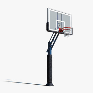 3D model basketball basket