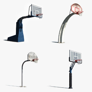 basketball basket 3D