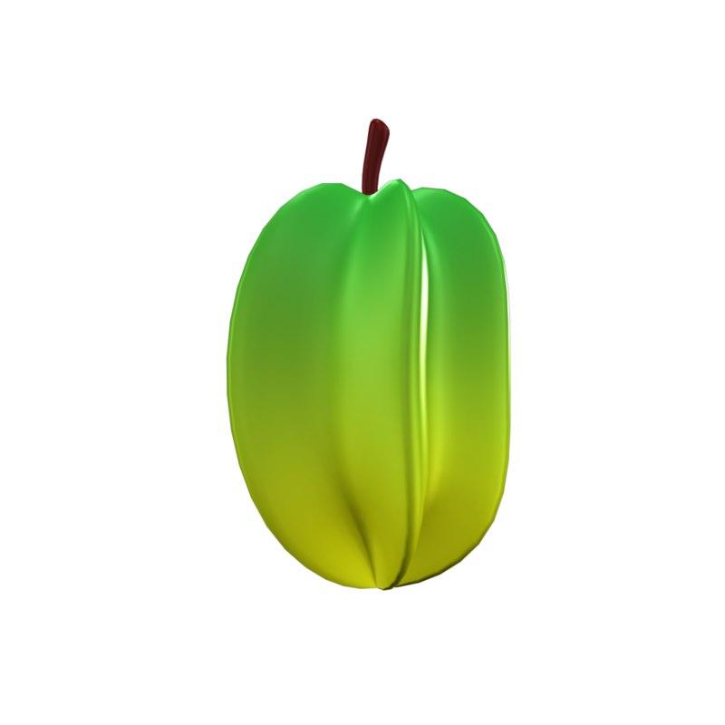 3D fruit model