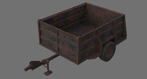 3D utility trailer 1c