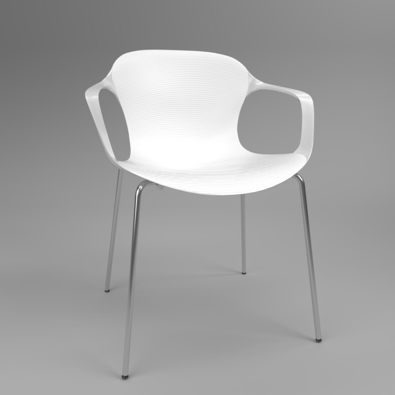 interior fritzhansen nap ks60 3D model