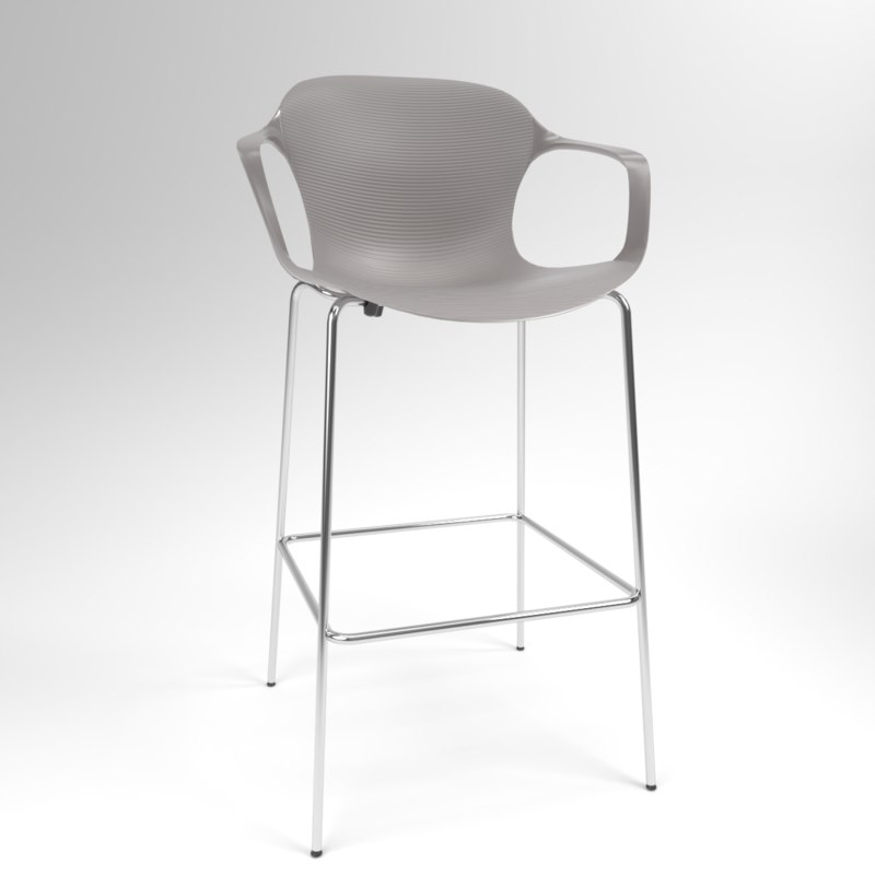 3D interior fritzhansen nap ks69 model