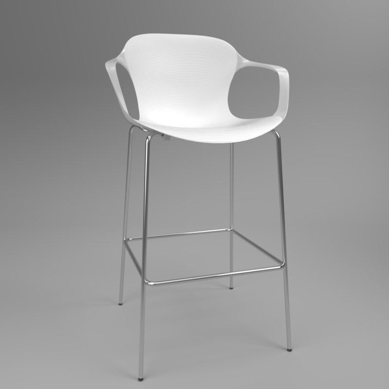 3D interior fritzhansen nap ks69 model