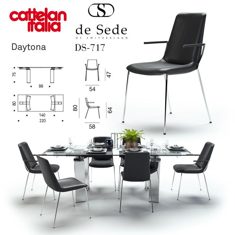 daytona cattelan italia ds-717 3D model