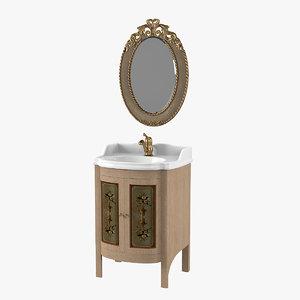 3D mobili di castello 3421