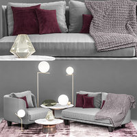 3D model sofa chair moroso gimme