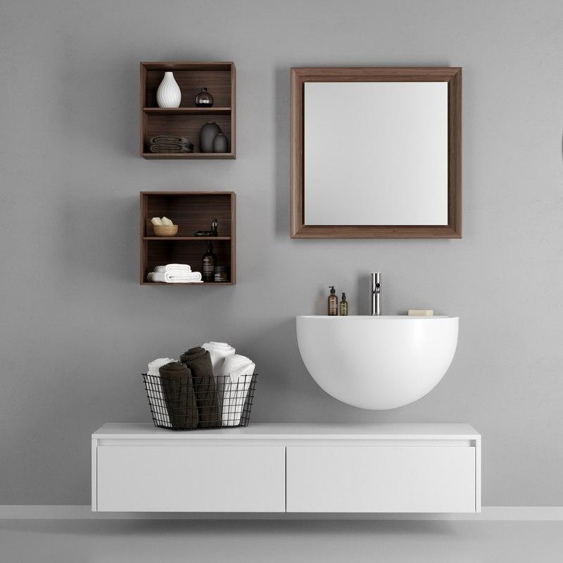 bowl washbasin 3D