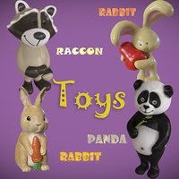 3D milashi toys model