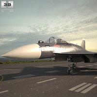 sukhoi su-35 su 3D
