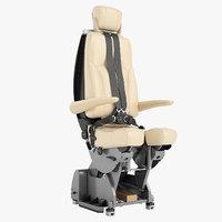 Airplane Pilot Chair 01