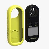 numeric anemometer thermometer p5w9 model