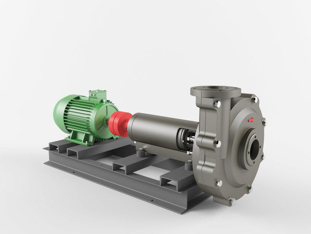 pump centrifugal psg 3D model