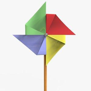 girandole girouette pinwheel model