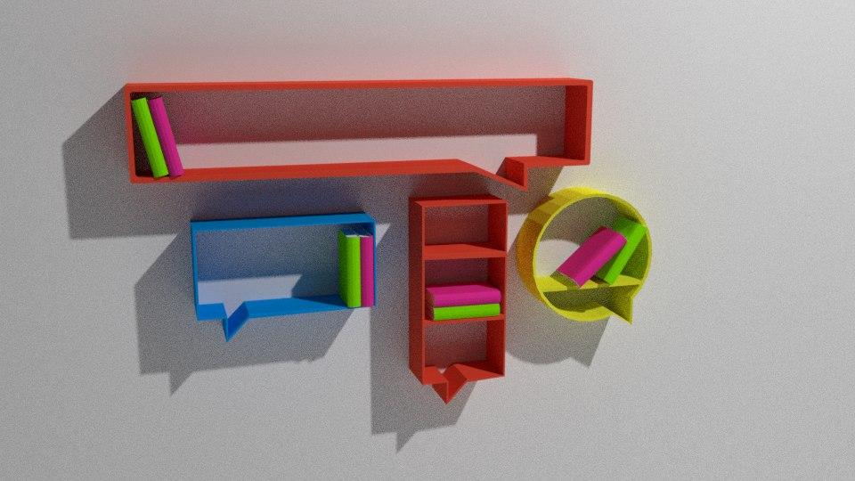 books idea 3D