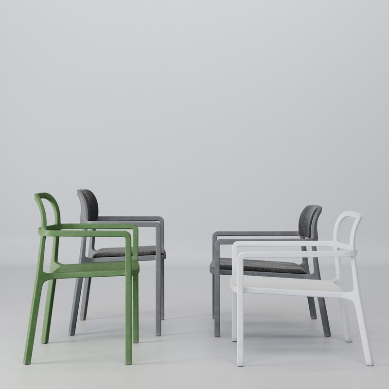 3d Ikea Ypperlig Armchair Model