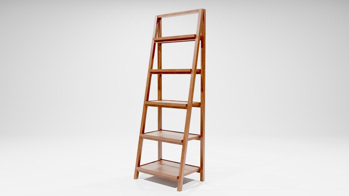 3D finewood shelf