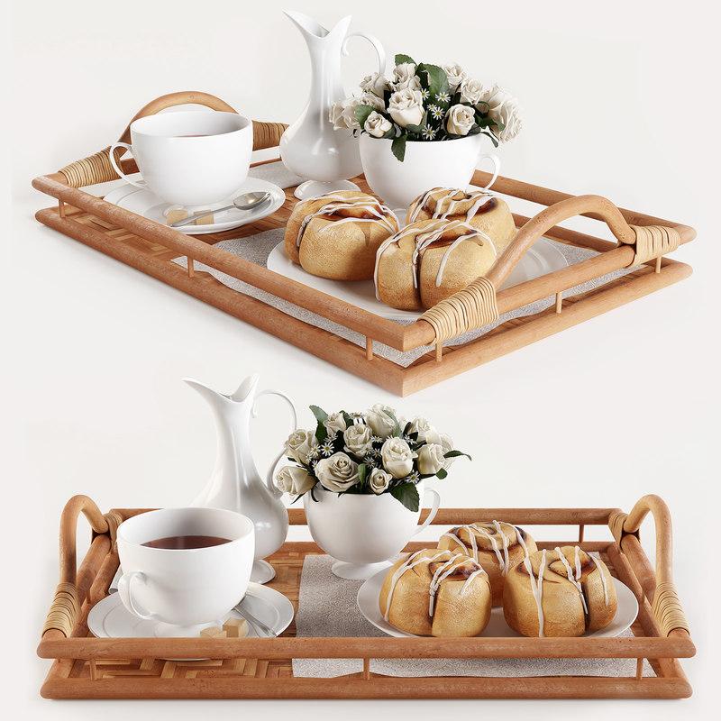 breakfast tray model