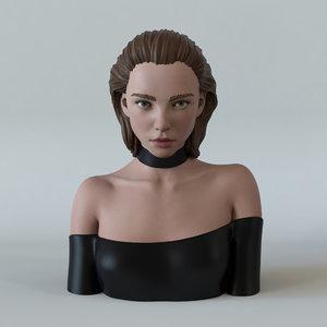 3D girl